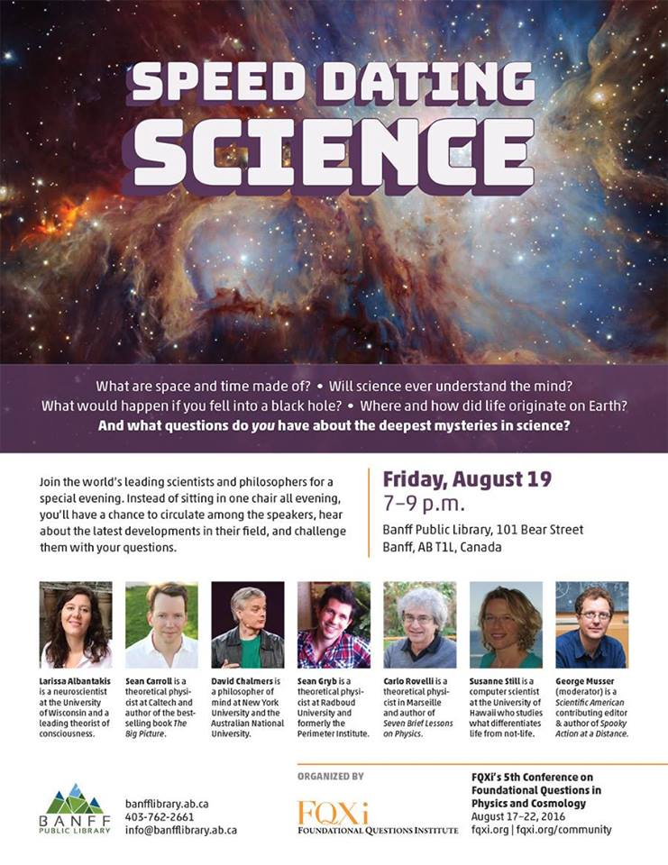 Getting Together: Science Speed Dating