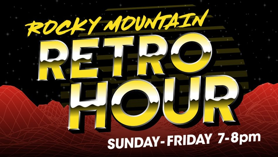 Rocky Mountain Retro Hour!
