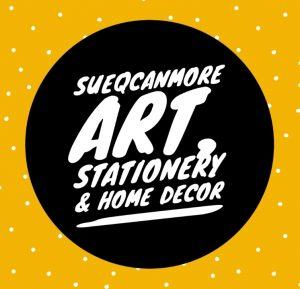 SueQCanmore – local art on clothing and accessories