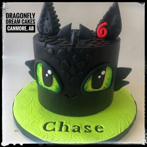Dragonfly Dream Cakes